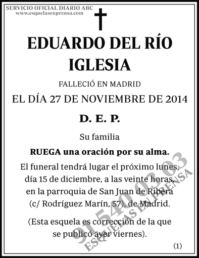 Eduardo del Río Iglesia
